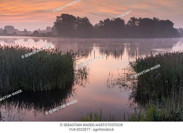 Willen Lake, Willen, Milton Keynes, Buckinghamshire, England, United Kingdom, Europe