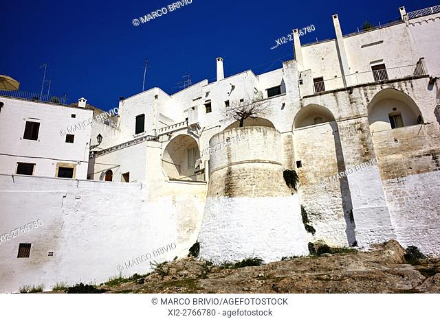 Ostuni is a city and comune, located about 8 km from the coast, in the province of Brindisi, region of Apulia, Italy). The 'Old Town' is Ostuni's citadel built...
