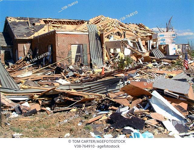 Tornado damage LaPlata, Md