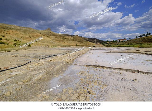 Salinas de Medinaceli , Medinaceli, Soria, comunidad autónoma de Castilla y León, Spain, Europe
