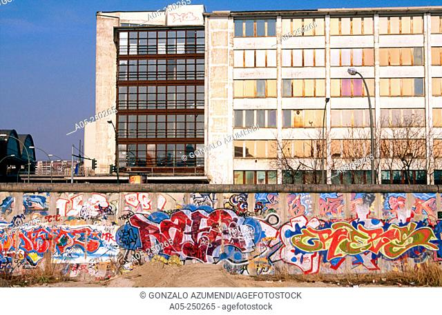 Berlin Wall. Berlin. West side. Germany