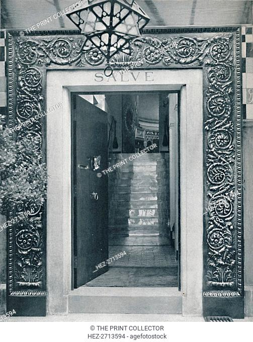 'View into Sir L. Alma-Tadema's Studio through the Entrance Door', late 19th century. Creator: Unknown