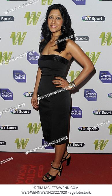 2015 BT Sport Action Woman Awards - Arrivals Featuring: Guest Where: London, United Kingdom When: 01 Dec 2015 Credit: Tim McLees/WENN.com