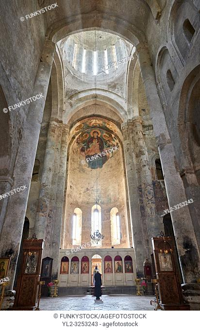 Pictures & images of the medieval interior frescoes of the Alaverdi St George Cathedral & monastery complex, 11th century, near Telavi, Georgia (country)