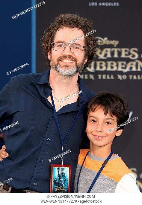 """Premiere Of Disney's """"""""Pirates Of The Caribbean: Dead Men Tell No Tales"""""""" Featuring: Guests Where: Hollywood, California"""