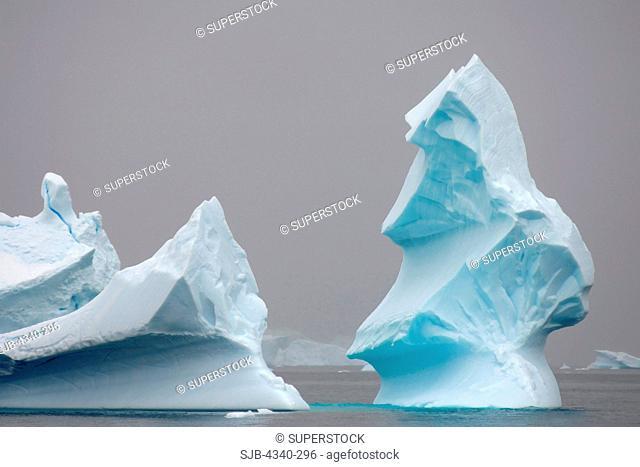 Pinnacle Icebergs