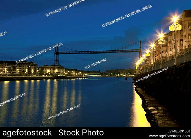 Bridge of Vizcaya, Portugalete, Bizkaia, Spain