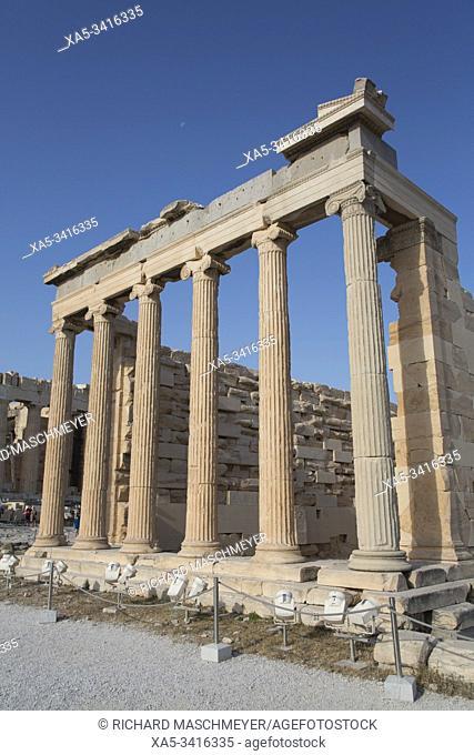 Temple of Erectheion, Acropolis, Athens, Greece