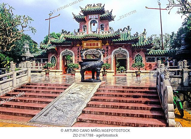 Fujian Phuc Kien Assembly Hall, XVIIth century. Hoi An city, Quang Nam Province, Vietnam