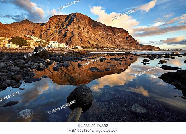 Landscape photo in Valle Gran Rey