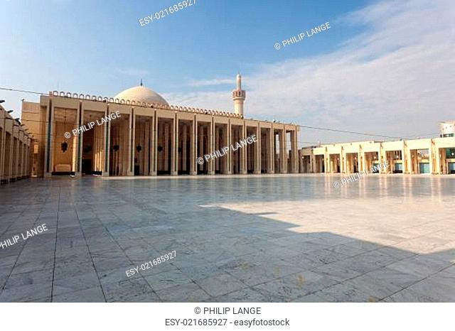 Exterior of the Grand Mosque in Kuwait City, Middle East