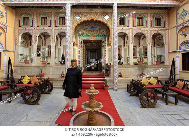 India, Rajasthan, Shekhawati, Nawalgarh, Grand Haveli