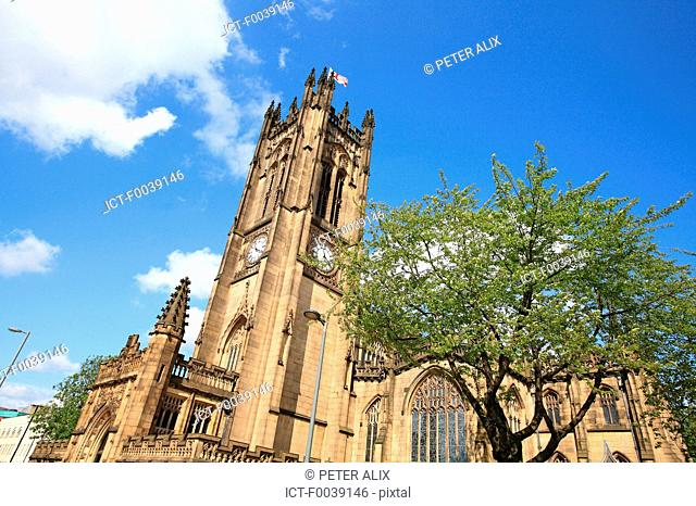 England, Manchester, the cathedral
