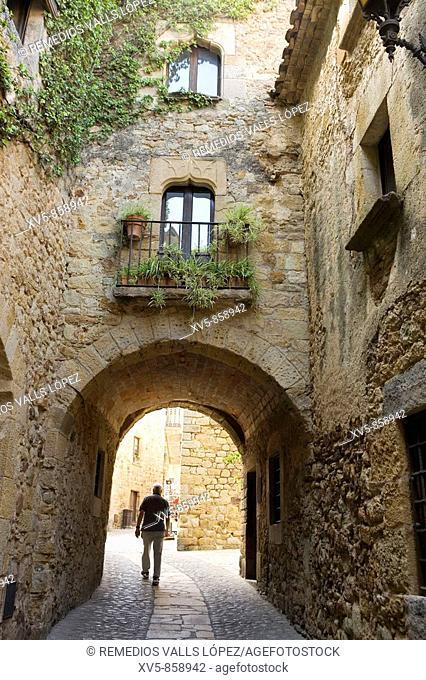 Spain. Cataluña. Girona. Costa Brava. Baix Empordà. Pals