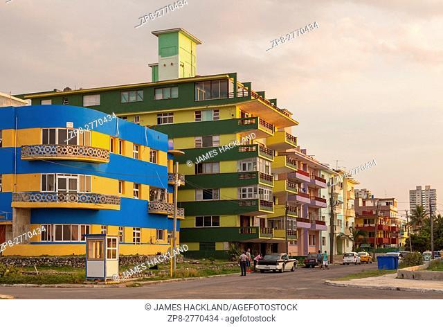 Apartments in Vedado, Havana, Cuba