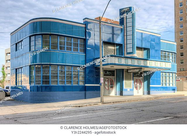 The historic Greyhound Bus Station in Jackson, Mississippi. This station was the destination of the Freedom Riders in 1961
