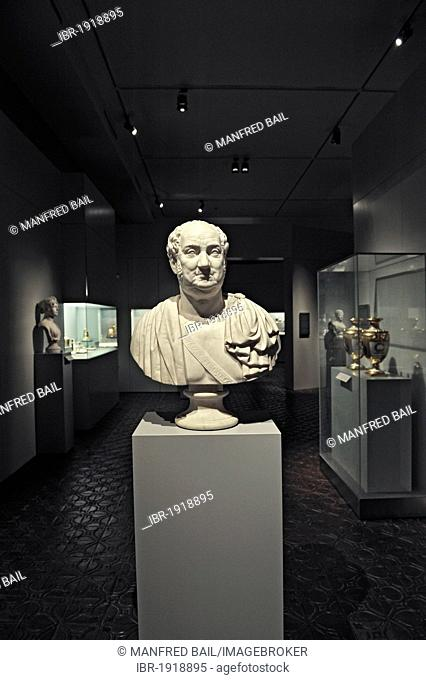 Bust of King Max I. Joseph by Ernst Brandel, Rome, 1826, Bavarian National Museum, Munich, Bavaria, Germany, Europe