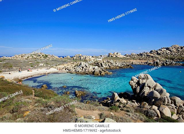 France, Corse du Sud, Bonifacio, Lavezzi Islands Nature Reserve, Cala di U Ghiuncu