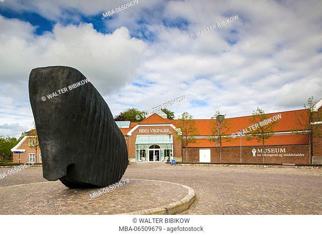 Denmark, Jutland, Ribe, Museet Ribes Vikinger, Viking Museum, exterior