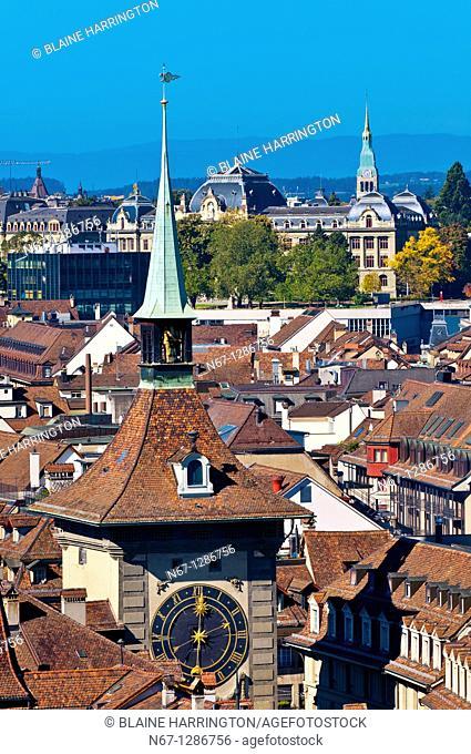 The Clock Tower Zytglogge, Bern, Canton Bern, Switzerland