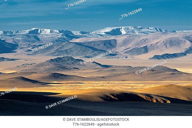beautiful landscape of the Altai Region of Bayan-Ölgii in Western Mongolia