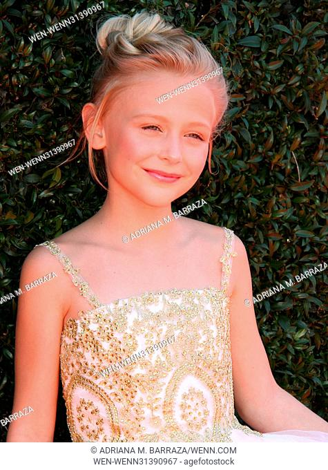 2017 Daytime EMMY Awards Arrivals held at the Pasadena Civic Center. Featuring: Alyvia Alyn Lind Where: Los Angeles, California