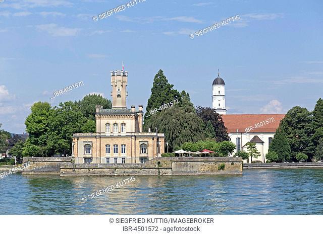 Montfort, Langenargen, Lake Constance, Baden-Württemberg, Germany Castle