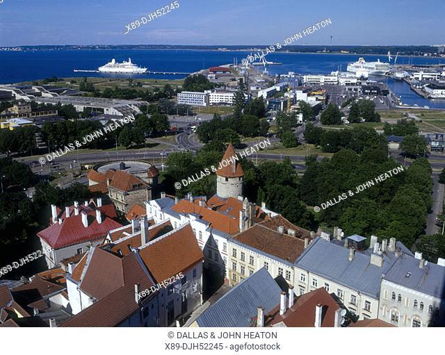 Old Town, Harbor, Tallinn, Estonia