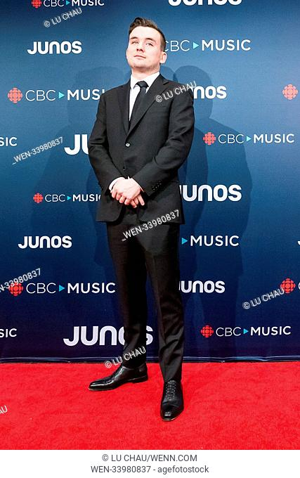 2018 JUNO Awards, held at the Rogers Arena in Vancouver, Canada. Featuring: Riley Bell Where: Vancouver, British Columbia