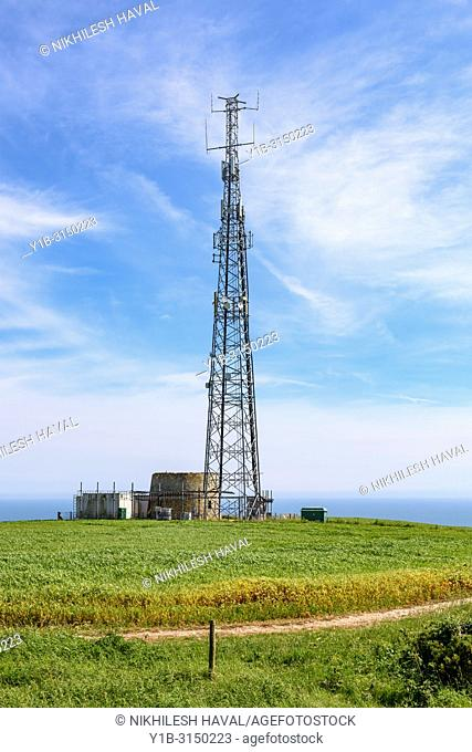 Mobile phone mast, Isle of Wight, UK