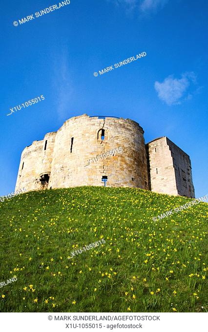 Cliffords Towers York North Yorkshire England