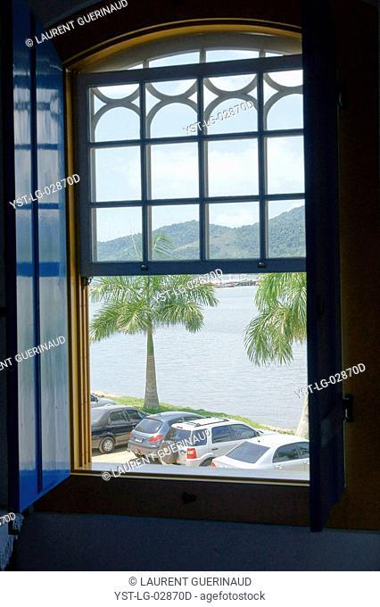 View of the Window, Landscape, Paraty, Rio de Janeiro, Brazil