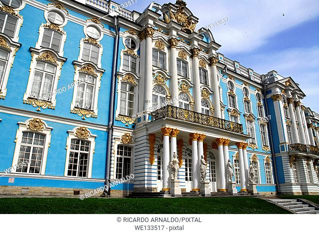 Summer Palace of Catherine the Great, near Petersburg, Russia