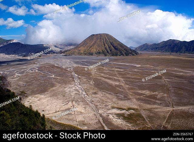 Caldera and volcano Bromo, Java, Indonesia