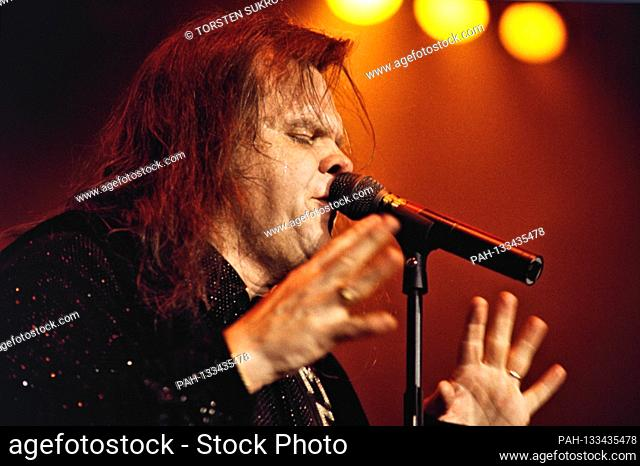 "06.05.1996, Kiel, Meat Loaf, born Marvin Lee Aday, since 1984 Michael Lee Aday on his """"Born to Rock Tour"""" live on stage in the Kiel Ostseehalle"