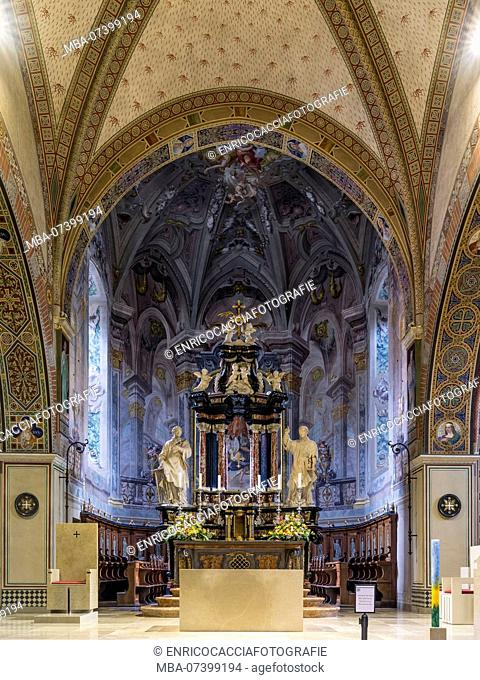 Altar of the cathedral San Lorenzo in Lugano
