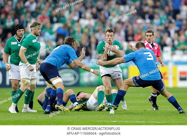 2015 Rugby World Cup Ireland v Italy Oct 4th. 04.10.2015. Olympic Stadium, London, England. Rugby World Cup. Ireland versus Italy