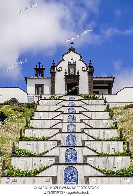 Chapel of Nossa Senhora da Paz, Vila Franca do Campo, Sao Miguel Island, Azores, Portugal