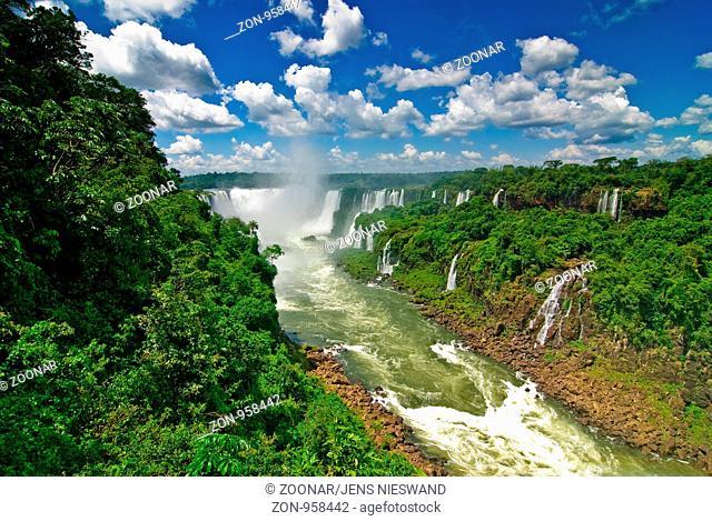Iguazu Wasserfälle, near Foz do Iguaçu, Paraná, Brazil