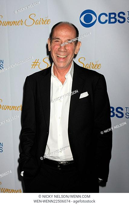 CBS Summer Soiree Featuring: Miguel Ferrer Where: Los Angeles, California, United States When: 18 May 2015 Credit: Nicky Nelson/WENN.com