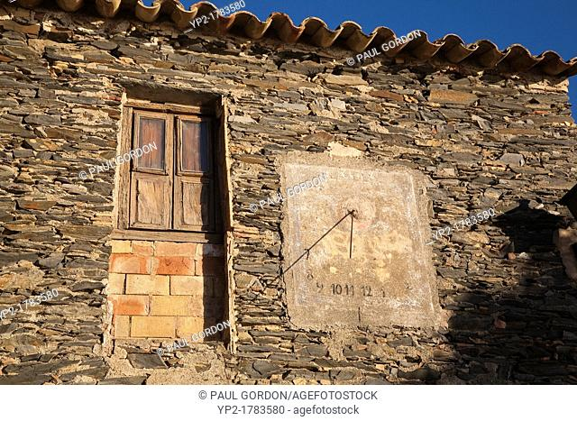Detail of an old fishermen's cottage near the Portlligat Museum-House - Portlligat, Catalonia, Spain