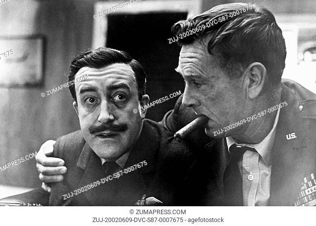 1964, Film Title: DR. STRANGELOVE, Director: STANLEY KUBRICK, Studio: COLUMBIA, Pictured: STERLING HAYDEN, STANLEY KUBRICK