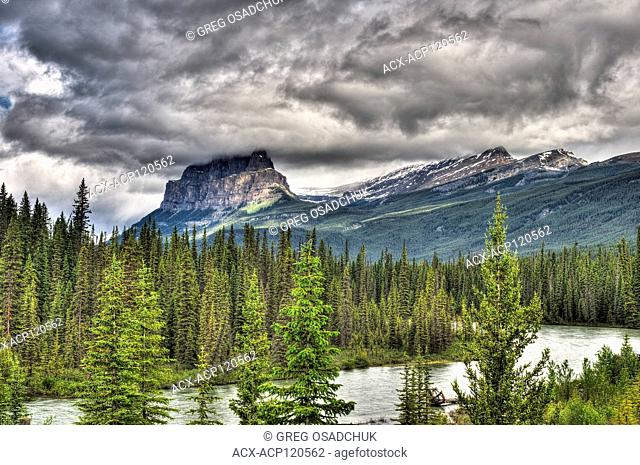 Cathedral Mountain, Canadian Rockies