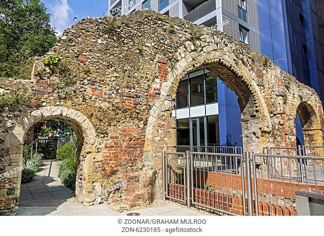 Remains Of Abbey Mill Reading Berkshire UK