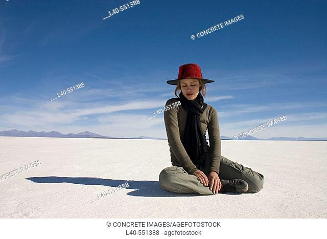 Isla del Pescado. Salar de Uyuni (salt desert at 4000m.), Bolivia