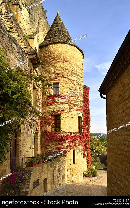 France, Dordogne, Dordogne valley, La Roque-Gageac