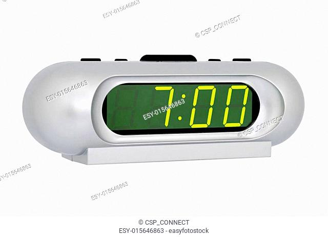 Desktop electronic clock