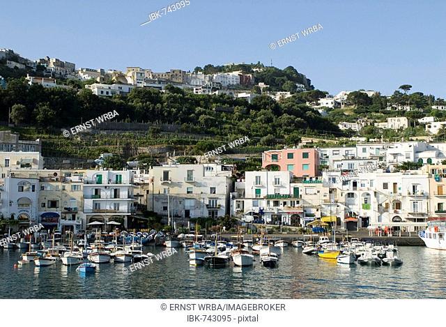 Marina Grande, Island of Capri, Campania, Italy