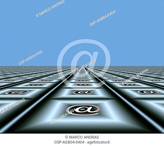 Photo illustrated, technology, computer