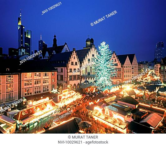 Christmas Market, Frankfurt, Germany